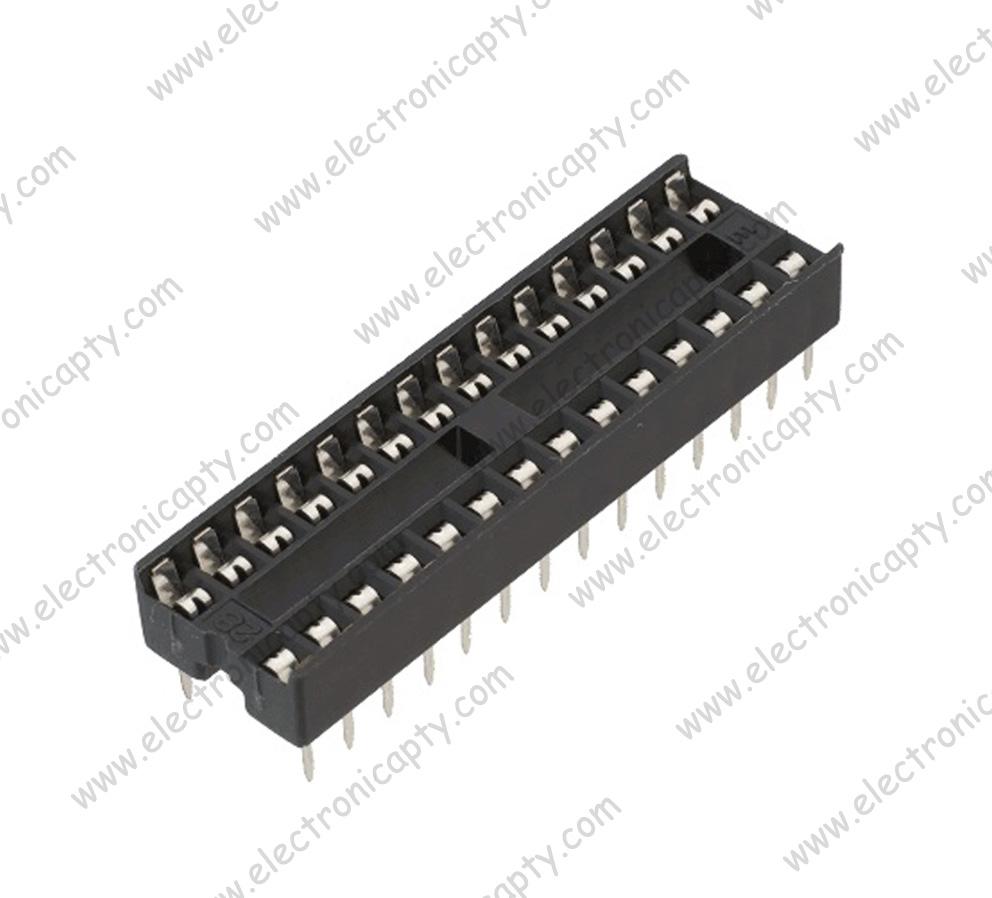 Circuito Integrado : Circuitos integrados y microcontroladores base de pines para