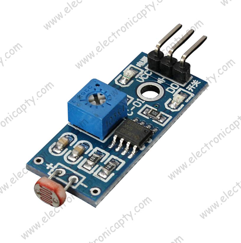 Modulo fotoresistor sensor de luz panama electronicapty - Sensor de luz precio ...
