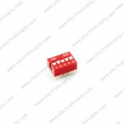 Interruptor DIP Switch de 5P
