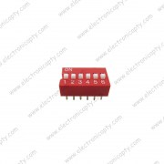 Interruptor DIP Switch de 6P