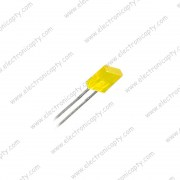 Diodo LED Rectangular Amarillo 5x1x8mm
