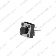 Boton pulsador 6x6x5mm 2 Pin (Push Button)