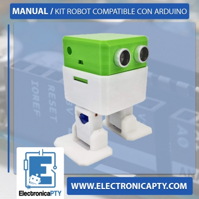 Kit robot Compatible con Arduino